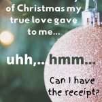 Holiday laughs for husband