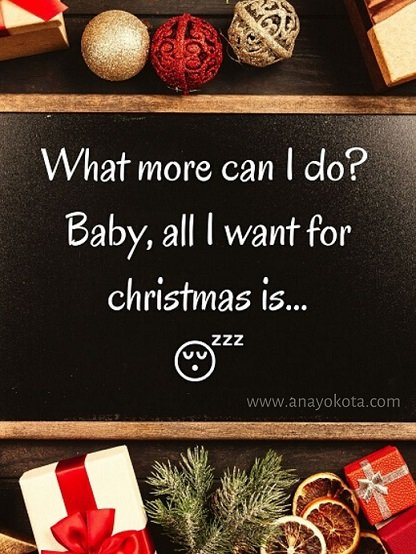 New mommies funny card for christmas