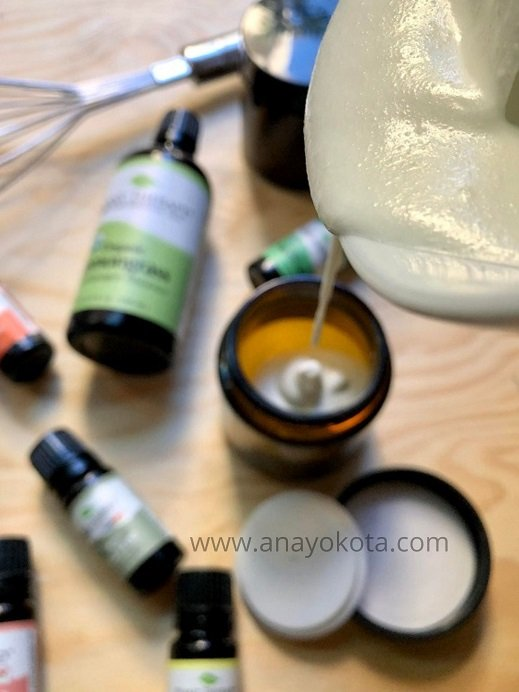 DIY body butter made with tallow