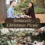 Romantic Christmas Picnic