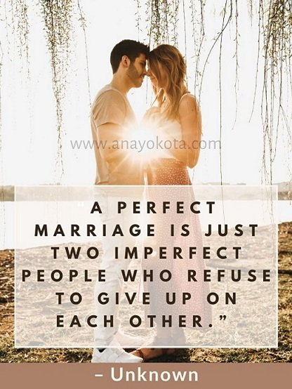 Perfect marriage sayings