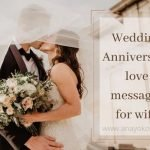 wedding anniversary love messages for wife