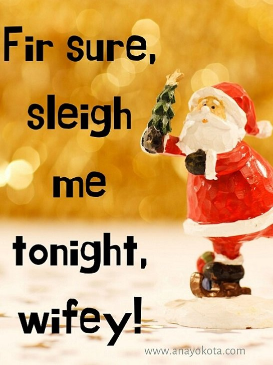 Hysterical christmas note for wife