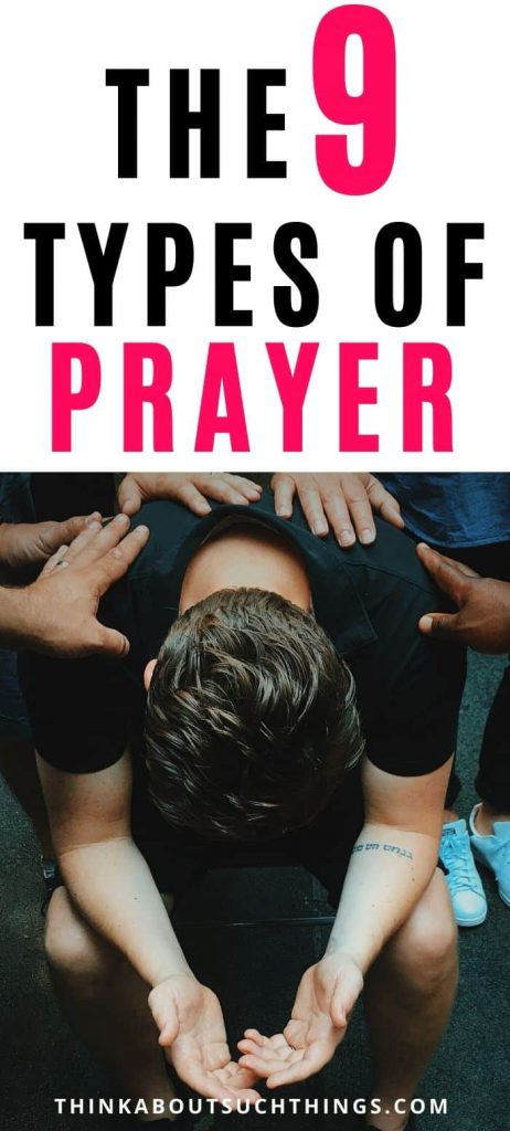 Different types of prayer