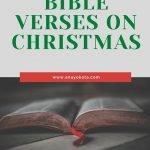 Bible versus on prayers for Christmas