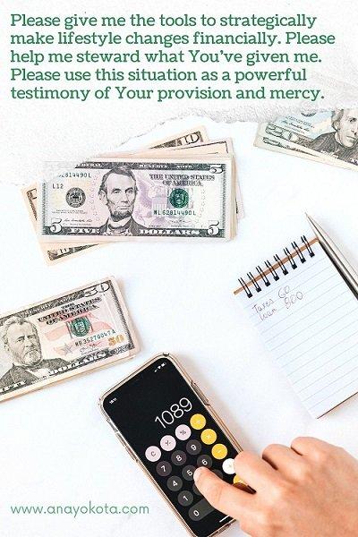 prayer for breakthrough in financial