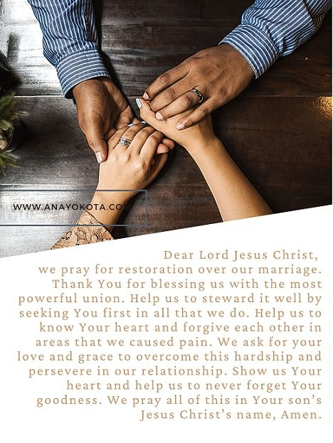 prayer for husband and wife relationship