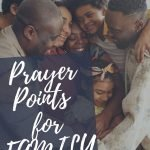 prayer points for families and marriages