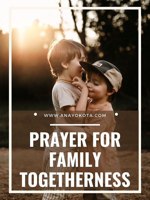 prayers for the family unit