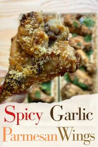 garlic parmesan wing