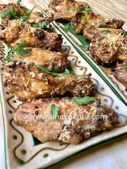 spicy garlic parmesan wing