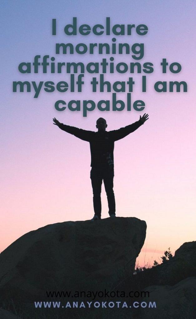 affirmation of good faith