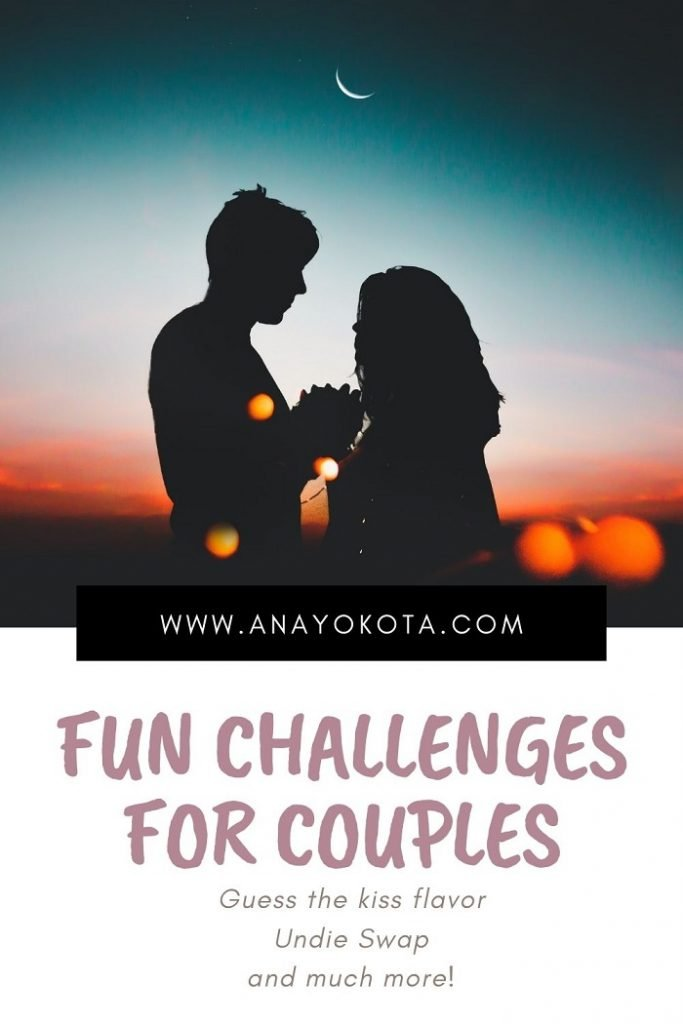 challenges to do with your boyfriend
