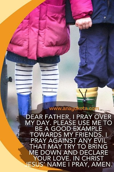 hand prayer for children