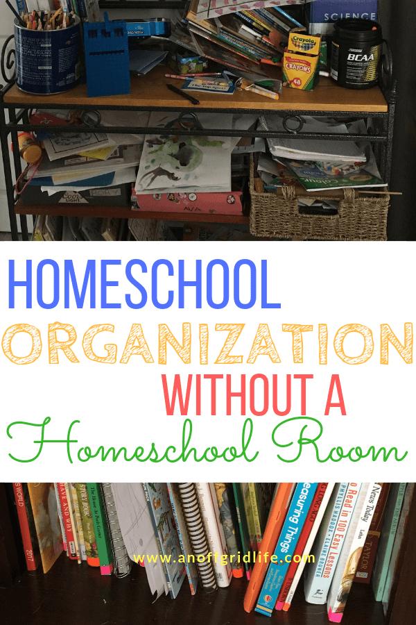 homeschool desk ideas Homeschool organization for small spaces
