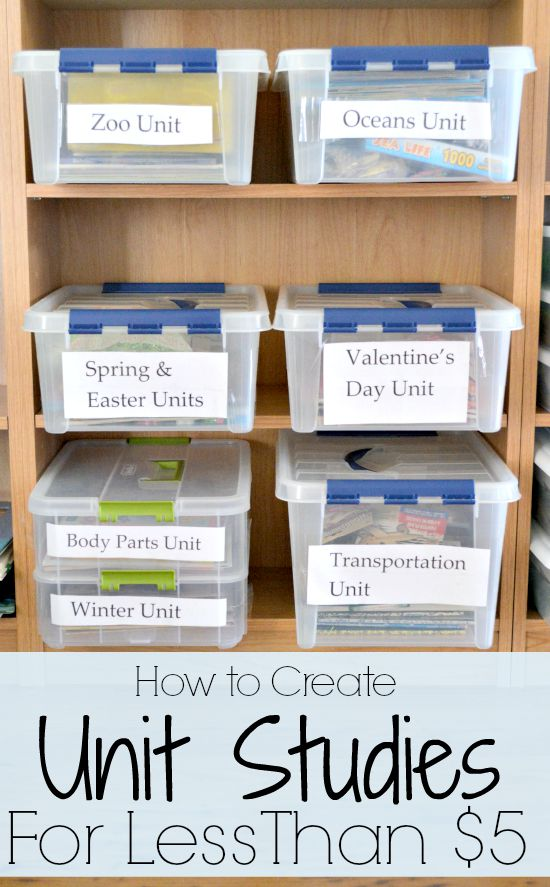 homeschool organization for spaces