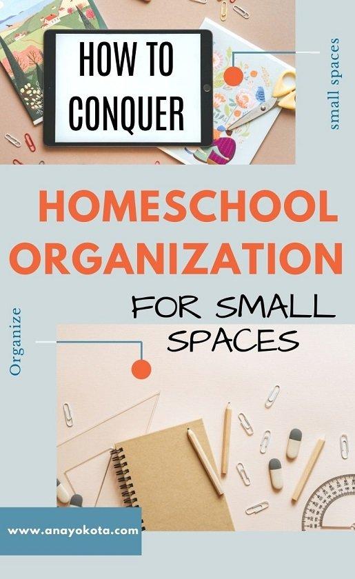 homeschool organization ideas for small spaces