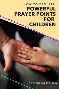 prayers for our children's protection