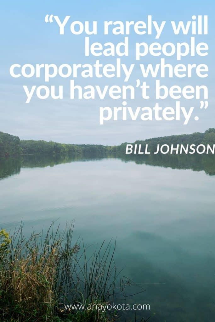 quotes bill johnson
