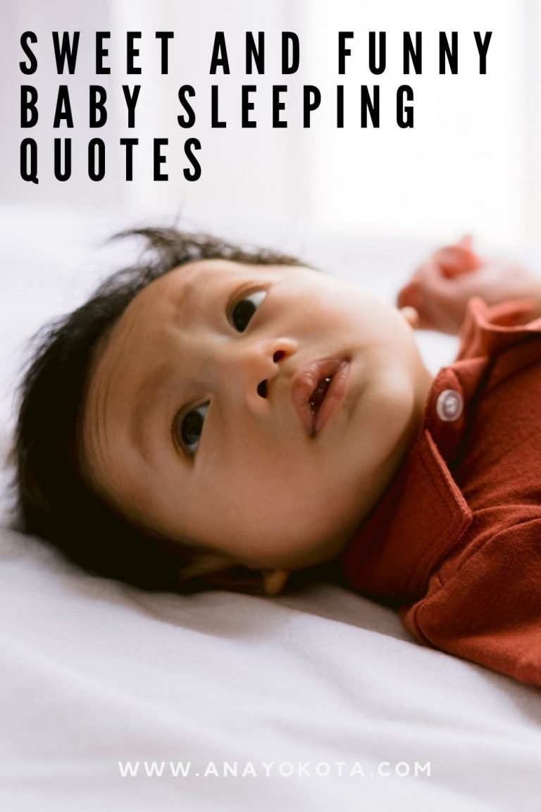 SWEET AND FUNNY BABY SLEEPING QUOTES