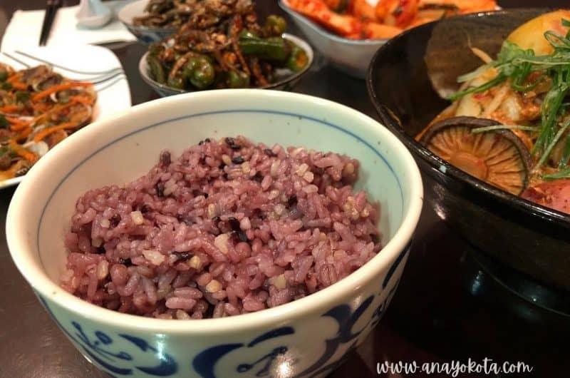 Healthy Korean Purple Rice Recipe