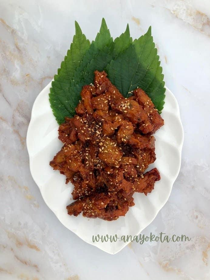 bulgogi recipe pork