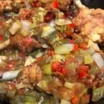 garlic fried chicken breast