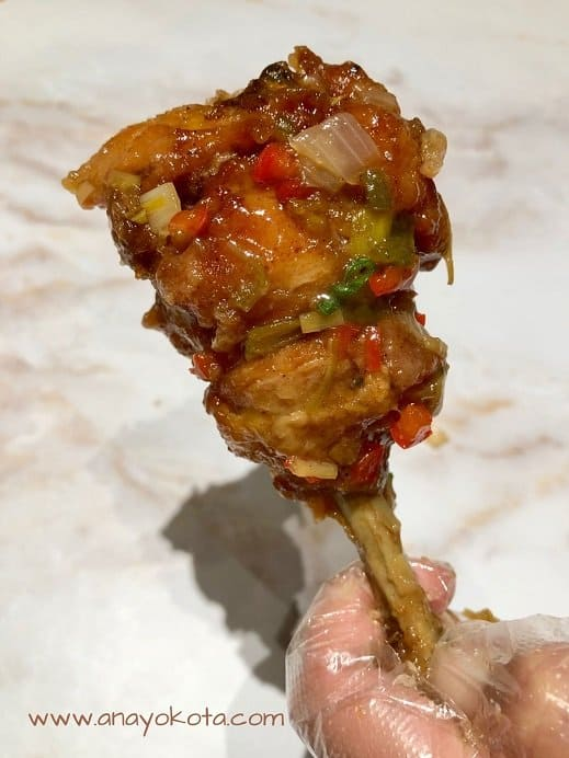 korean soy garlic chicken