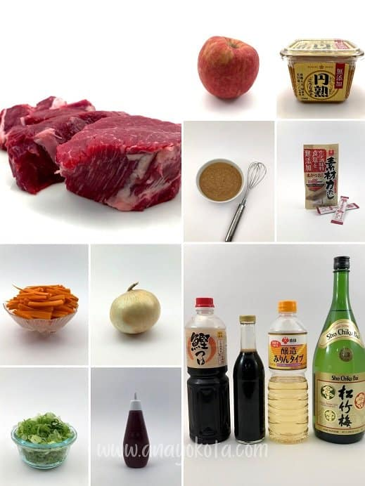 miso beef recipe